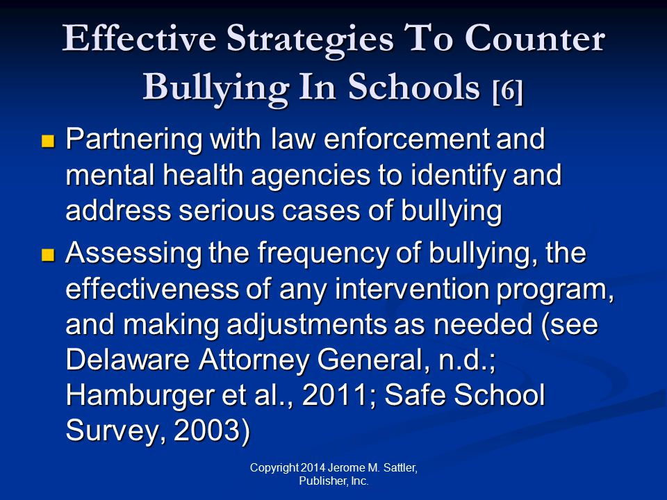 Effective Strategies To Counter Bullying In Schools [6]